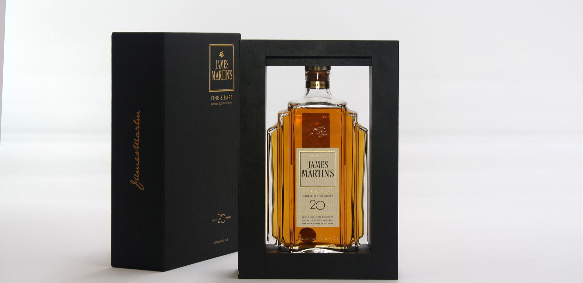 Coffret James Martin's 20 anos